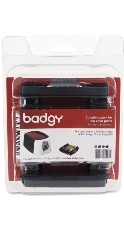 EVOLIS CBGP0001C BADGY 100/200 Consumable Pack