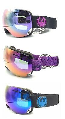 Dragon Alliance X1S Ski Snow Goggles Jet & Stone W/ Purple and Blue (Dragon X1s)