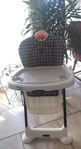 Fisher price healthy start high chair.