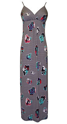 Pop Art Dress (Retro Pop Art Photo Print Sundress Maxi)