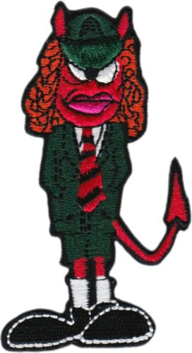 Patch - Cartoon Devil Angus Young AC/DC ACDC Rock Music Band Sew Iron On #19012