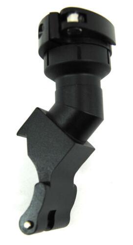 3Skull Paintball Clamping Aluminum Feedneck for 98 Custom Markers Guns Black