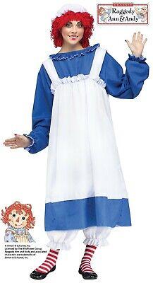 Adult Raggedy Ann Rag Doll Costume - Raggedy Ann Doll Costume