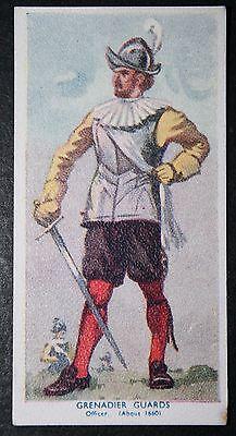 Grenadier Guards  King's Royal Regiment of Guards 1660     Vintage Card   VGC