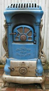 Antique-Columbia-Wood-Coal-Parlor-Stove-by-Keeley-Stove-Company-PA