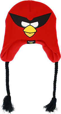 Angry Birds in Space Red Bird  Laplander Hat kids one size