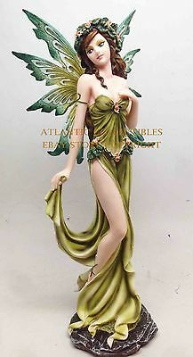 ELEGANT ELEMENTAL EARTH FAIRY GAIA STATUE FIGURINE FAIRYLAND LEGENDS