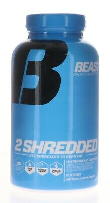 Beast Sports Nutrition – 2 Shredded – Thermogenic Weight Loss Supplement