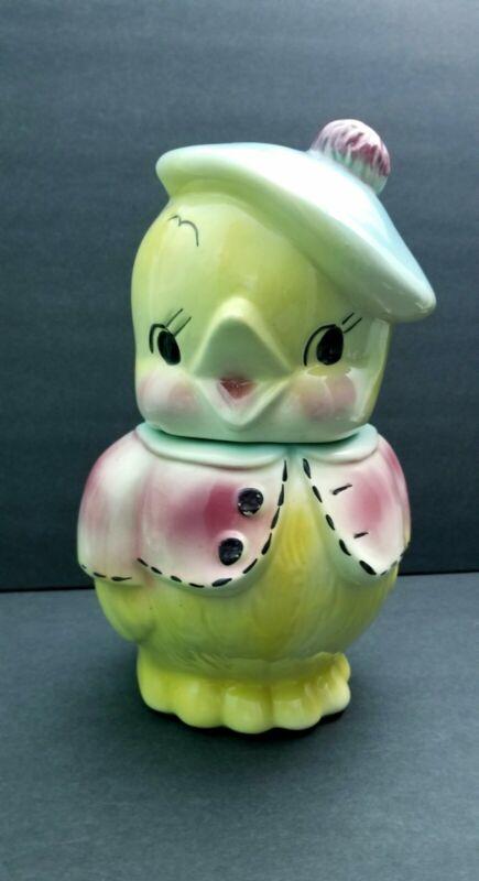 Antique Baby Chick Cookie Jar