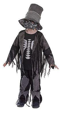 Grave Digger, Groß, Halloween, Childs Kostüm #DE (Grave Digger Kostüm)