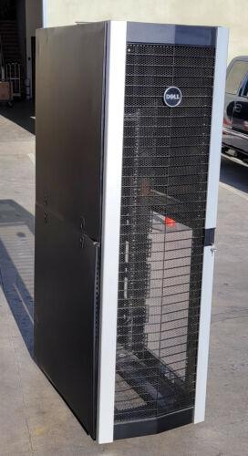 "DELL 4220 42U Rittal Server Rack Computer Cabinet 36"" Deep with Keys"