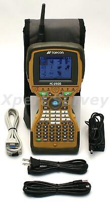 Topcon Fc-2500 Robotic Field Controller Data Collector W Rs-1 2.4 Ghz Radio
