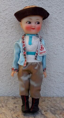 Vintage Rare Boy Chinese Folk Doll Made In People