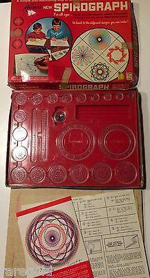 Original VINTAGE 1967 Kenner SPIROGRAPH Set Toy # 401 no pens  ( #1)