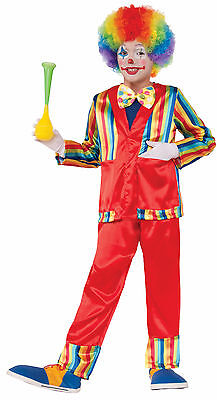 Child Funny Business Clown Circus Costume ](Kids Circus Costumes)