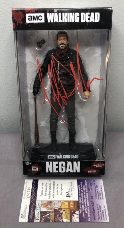 Jeffrey Dean Morgan SIGNED Negan McFarlane Figure w/ JSA COA ~ The Walking Dead