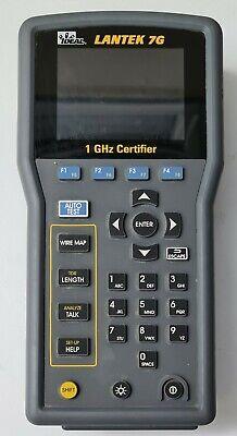 Ideal Lantek 7g 1ghz Cable Certifier Tester