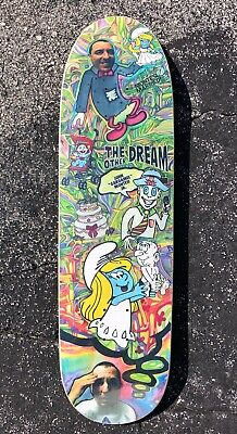 """Set of 2 New Deal Skateboards Spray Can Skateboard Stickers Decals Reissue 4/"""""""