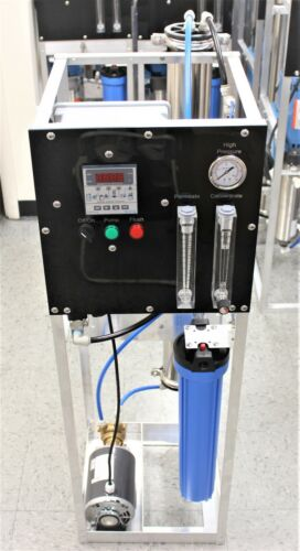 Reverse Osmosis System 4000 GPD Procon Positive Displacement Rotary Vane Pump