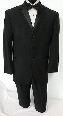 Black Oscar De La Renta Tuxedo Jacket With Optional Pants Wedding Prom Mason