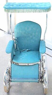 Vintage Stroller 1960's Genuine Stroll - O - Chair. Stroller & Rocking chair