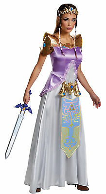 uxe Adults Women's Costume Halloween Fancy Dress Disguise (Legend Of Zelda Halloween-kostüme)