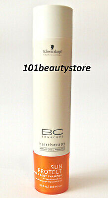 SCHWARZKOPF BC Bonacure Sun Protect Hair & Body Shampoo 8.5oz *NEW.UNBOXED* for sale  Shipping to India