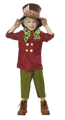 Mad Hatter Costume Toddler (Toddler Lil' Mad Hatter Alice in Wonderland)