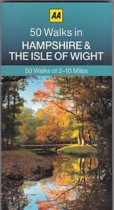 50 Walks in Hampshire and the Isle of Wight by the AA  (Paperback) New Book