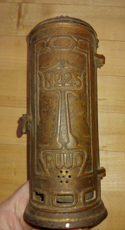 Antique Salesman Sample Ruud No 25 Water Heater
