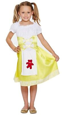 cy Dress Up Costume Outfit Ages 4-12 yrs World Book Day NEW (Goldilocks Dress Up)