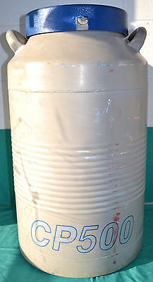 Taylor Wharton Cp500 Cryogenic Storage Tank