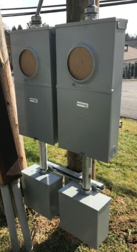 Electrical Service or Enclosure Utility Pole Mount