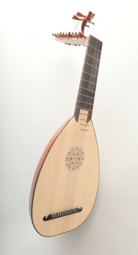 13 Course Baroque Lute by SANDI - DIRECT SALE FROM LUTHIER