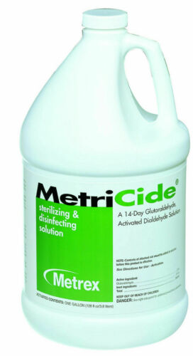 Metrex Metricide Glutaraldehyde Cold Sterilization  14 day 1 Gallon 10-1400
