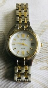 Ladies Seiko Solar Watch with date