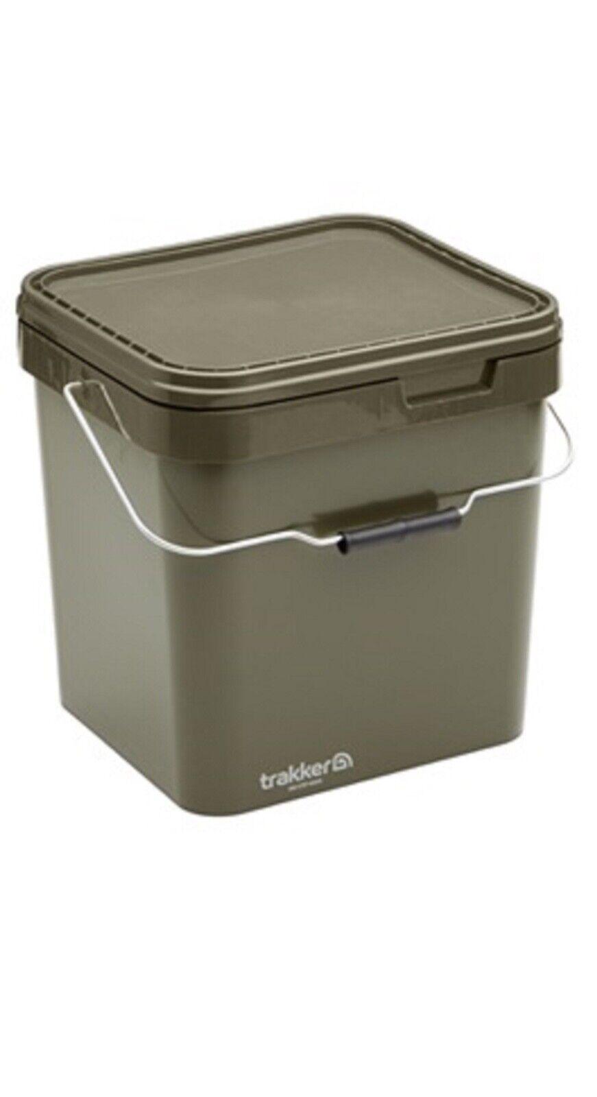 Trakker Behälter 17/13/5Liter Angeleimer Pureflo Bait Filter Air-Dry System