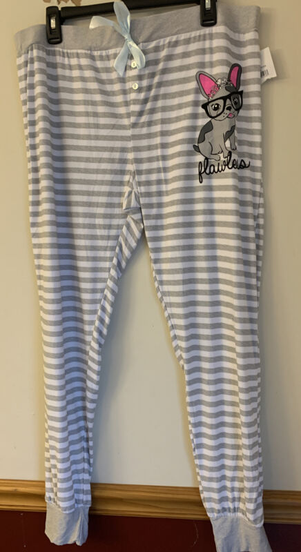 French Bulldog Ladies Plus Size Pajama