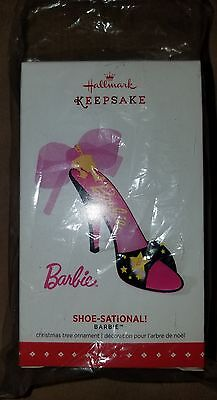 2015 Barbie Convention Hallmark - Shoe Sational Ornament - Exclusive- Signed T22