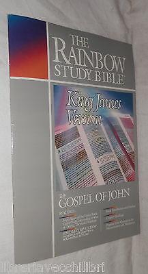 THE GOSPEL OF JOHN King James Version The Rainbow Study Bible Biblica Bibbia