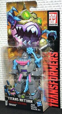 Hasbro Transformers Titans Return Legends Class Figure Sharkticon Gnaw