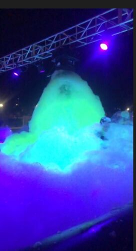 Makes 160 Gallons of UV GLOW Foam Solution
