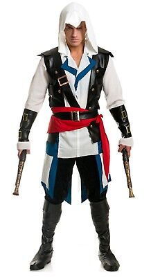 Cut Throat Pirate Assassin's Creed IV Black Flag Edward Kenway Costume Cosplay - Edward Kenway Cosplay