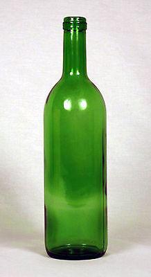 750mL Green Bordeaux Wine Bottles - Case of 12
