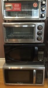 Microwave & Toaster Oven (new & old)