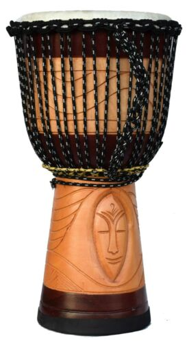 LARGE DJEMBE 24 inch Height HEIGHT  /12 inch HEAD Dlight Color