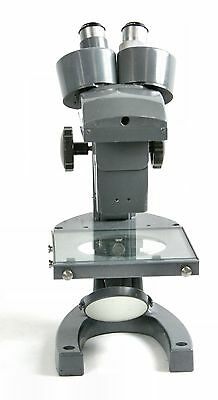 Bausch Lomb Stereo Microscope Three Sliding Objectives Mirror
