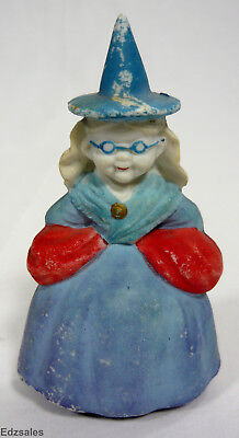 Good Halloween Decorations (Vintage Good Witch Fairy Godmother Figurine Made in)