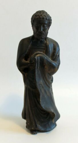 Antique Japanese Bronze Figure Meiji Period