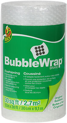 Duck Brand Bubble Wrap Original Protective Packaging 12 Inches